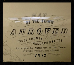 Andover map